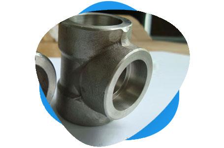 AISI 4130 Threaded & Socket Weld Tee