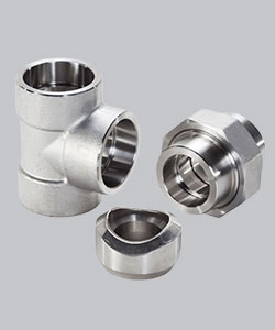 Alloy Steel Socket Weld Forged Pipe Fittings Specifications