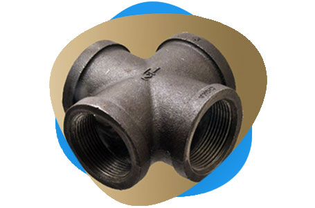 Carbon Steel Threaded & Socket Weld Cross