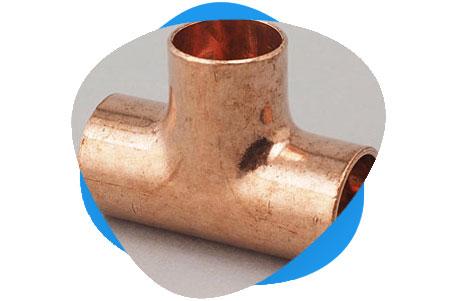 Cupro Nickel Equal Tee