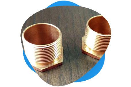 Copper Nickel Threaded Bushing