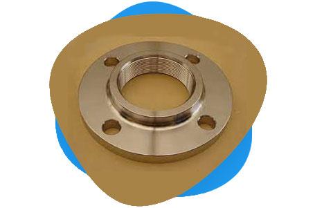 ASTM A151 Cu-Ni Threaded Flange