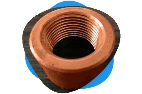 Copper Nickel Threaded & Socket Weld End Cap