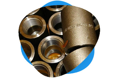 Copper Nickel Threaded & Socket Weld Coupling