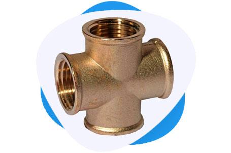Copper Nickel Threaded & Socket Weld Cross