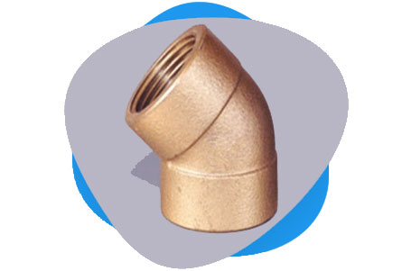 Copper Nickel Threaded & Socket Weld Elbow