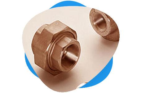 Copper Nickel Threaded & Socket Weld Union