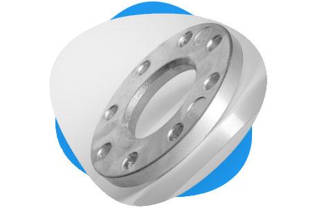 ASTM B564 Nickel Lap Joint Flange
