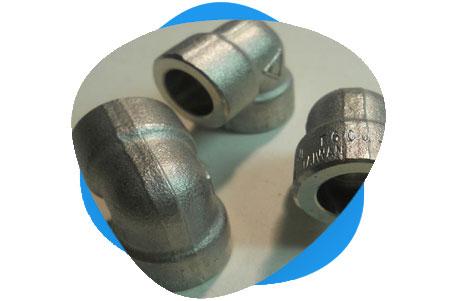 Nickel Threaded & Socket Weld Elbow