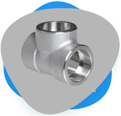 ASME B16.11 Socket Weld Equal Tee Supplier, Manufacturer