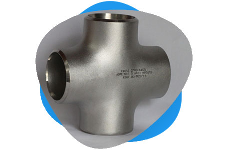 ASTM A403 Stainless Steel Cross Pipe Fittings