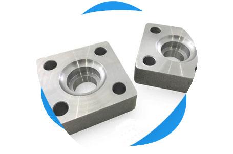 ASTM B564 Titanium GR.2 Square Flange