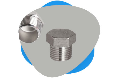 Titanium Grade 2 Threaded Plug